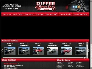 Diffee motor cars south 200 s macarthur blvd oklahoma for Diffee motor cars south